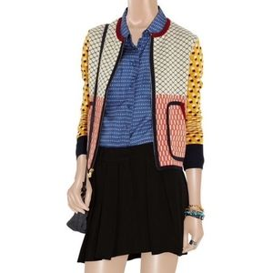 Tory Burch Aldwyn Zip Cardigan